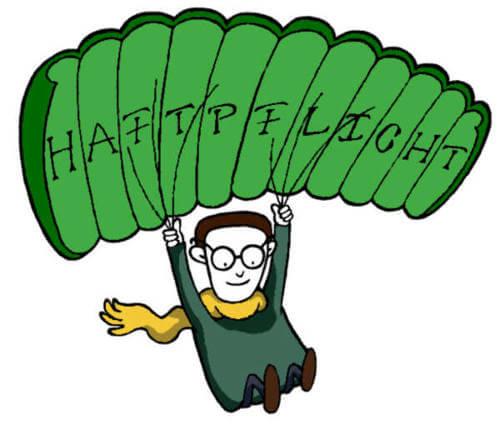 Fred springt Fallschirm